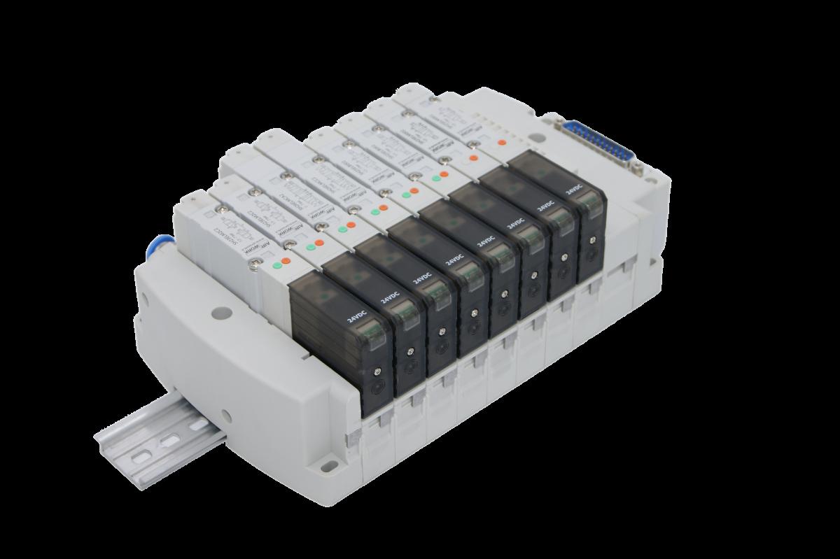 Ventilpack Mit Multipol Verbindung Serie VH