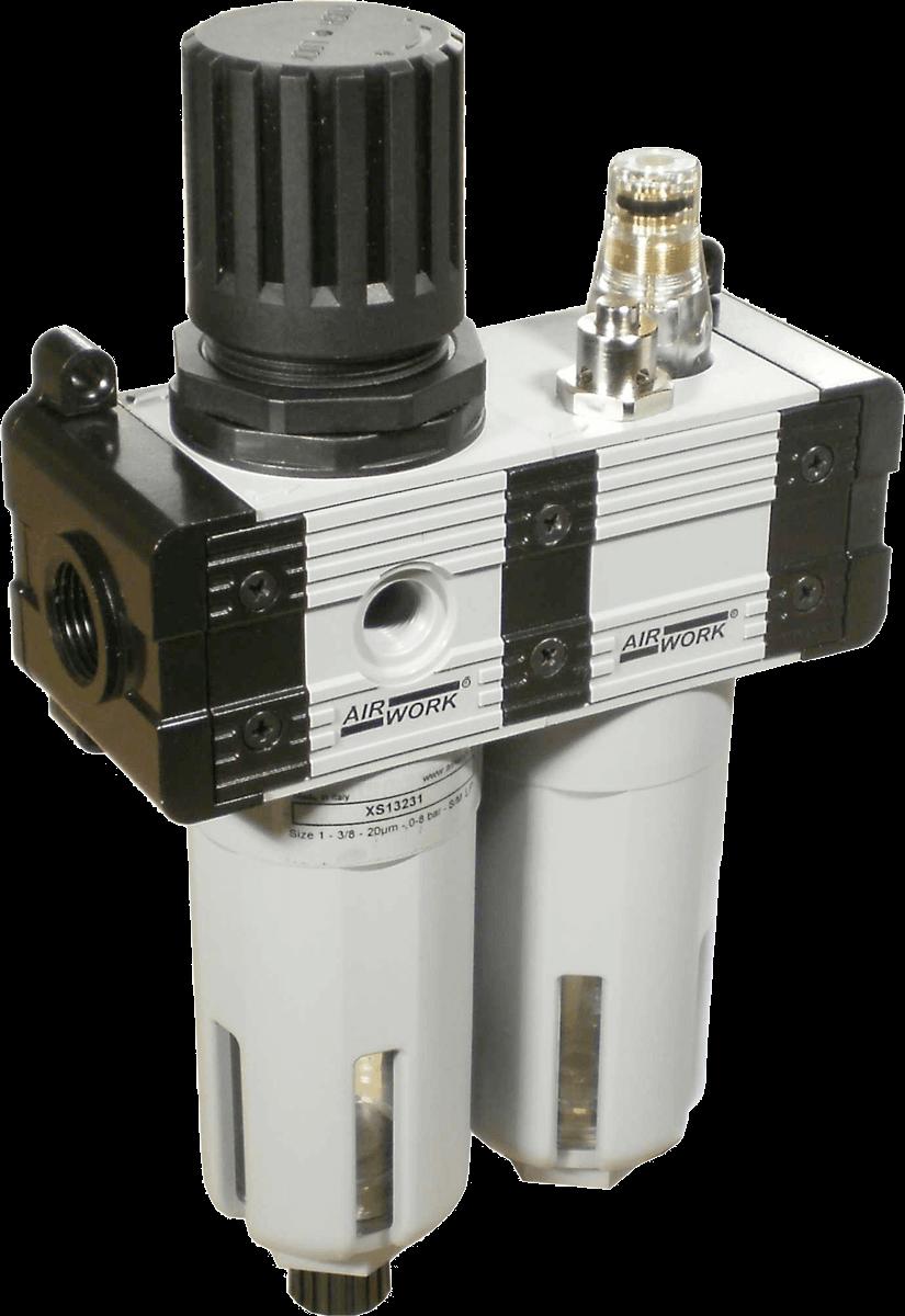 Filtreregulateur + Lubrificateur (FR+L) XS 1-2-3