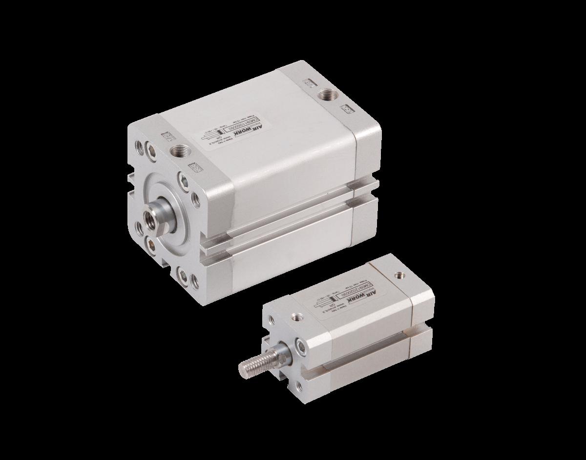 cilindro pneumatico compatto ISO 21287