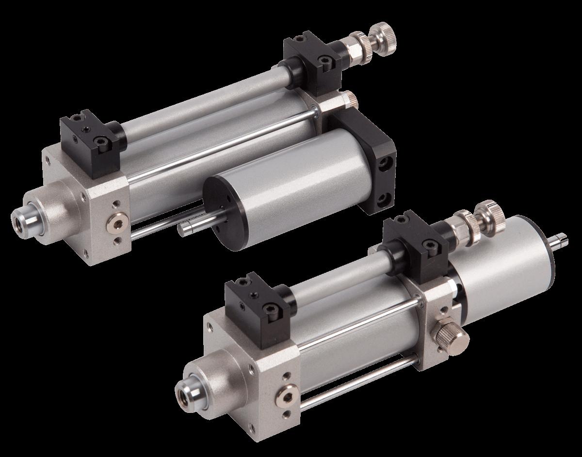 regolatore idraulico di velocità per cilindri ISO 15552