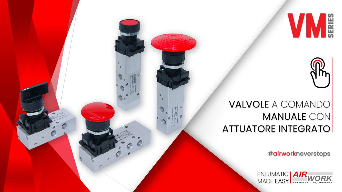 assembling of manual valves with integrated actuator