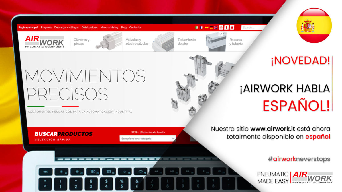 airwork spanish website