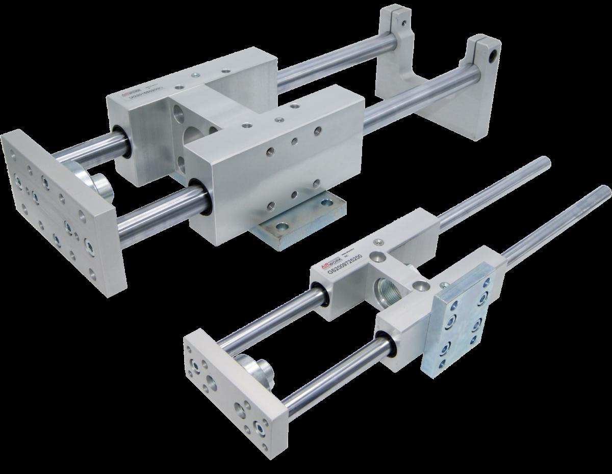 Nouveaux accessoires de montage pour les unités de guidage ISO 15552 et ISO 6432