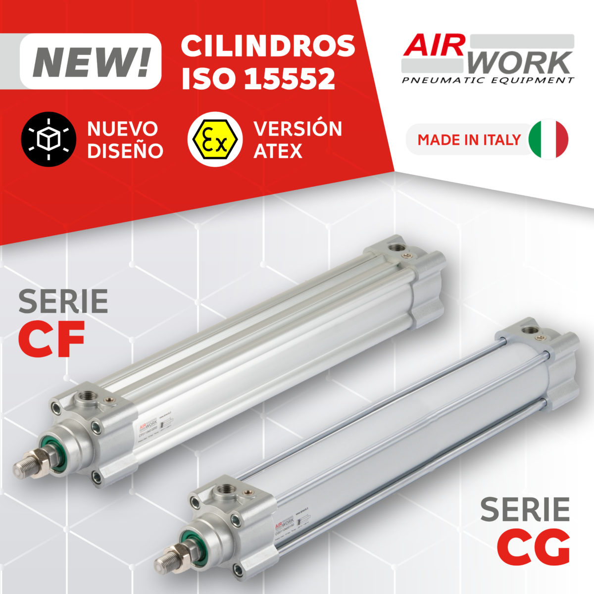 CF CG cilindro neumaticos ISO 15552 Airwork